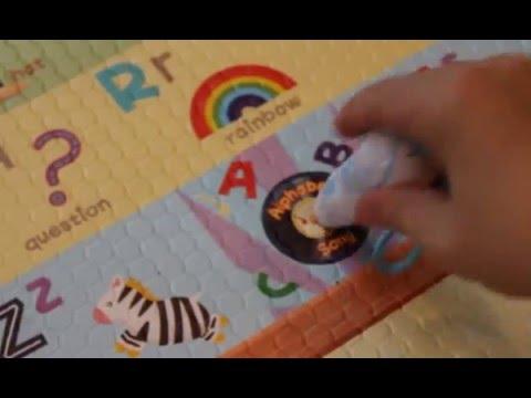Dwinguler Sound Sensory Music Parade Playmat - ABC's