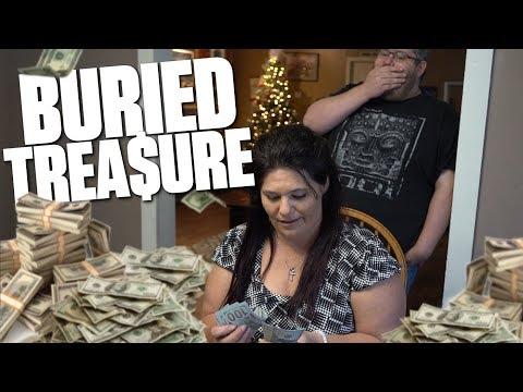 WE FOUND BURIED TREASURE AT GRANDPAS!