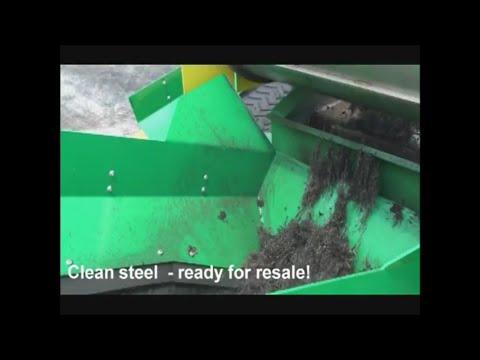 Columbus McKinnon Tire Recycling Equipment - CM4R Liberator Zero Waste System