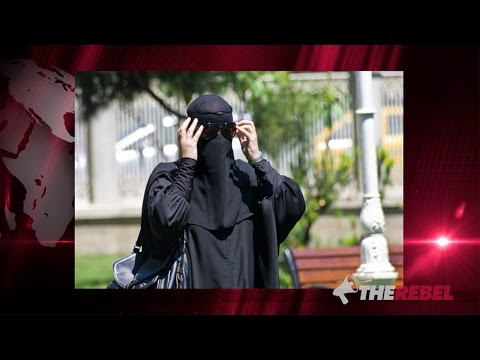 Exclusive Man In Niqab Votes In Canadian Election