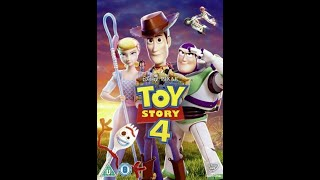 Opening to Toy Story 4 UK DVD (2019)