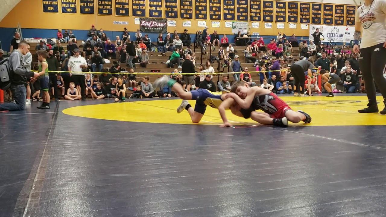 Steele High School Girls Wrestling, Match 2 12/15/12 - YouTube