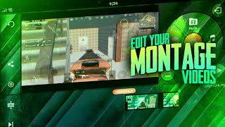 Edit your Montage videos proffessionally on android | Effects and transitions | Kinemaster