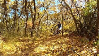 Mountain Biking Lambert Park in the Fall - Alpine, Utah GoPro