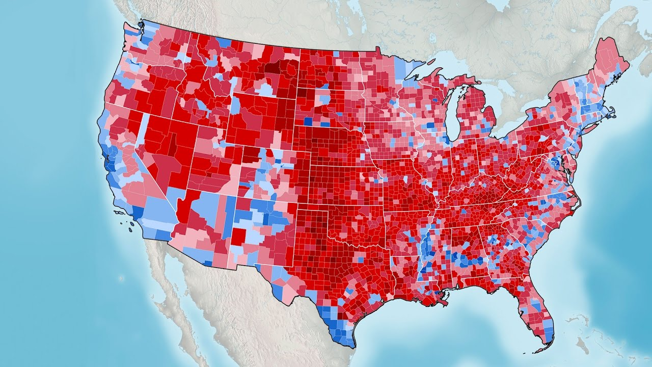 U S Presidential Election Results 1789 2016 Youtube