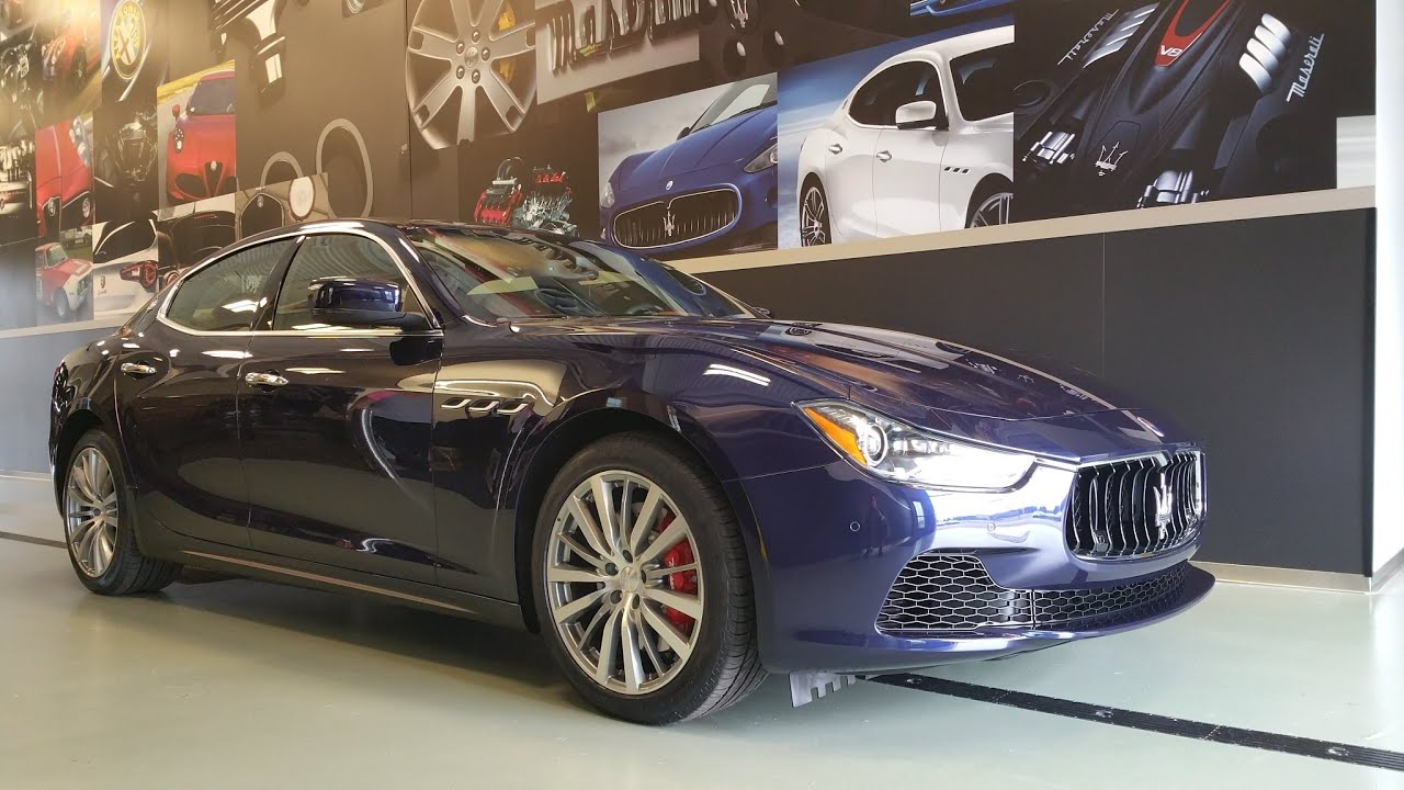 maserati ghibli walkaround video 2015 ghibli s q4 blu