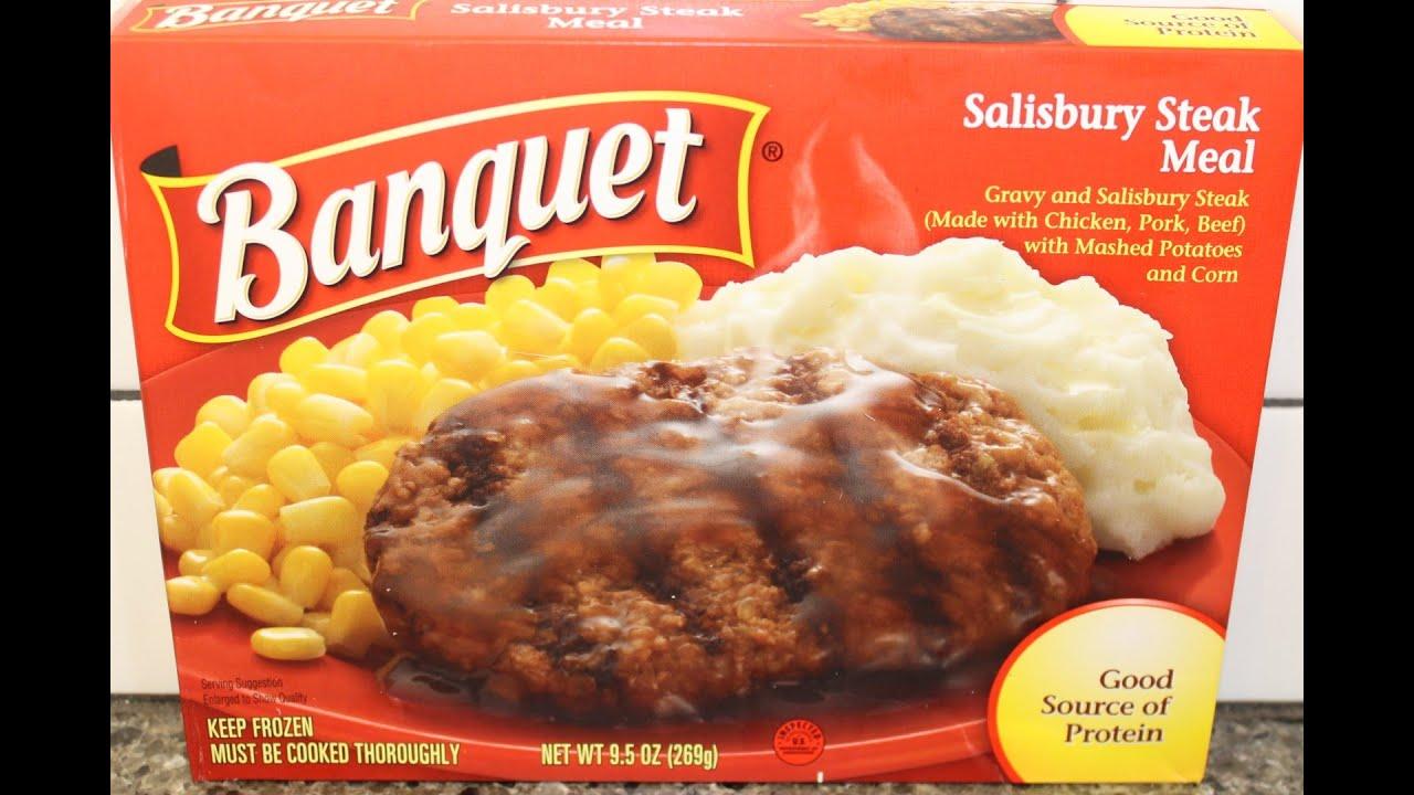 Banquet: Salisbury Steak Meal Review