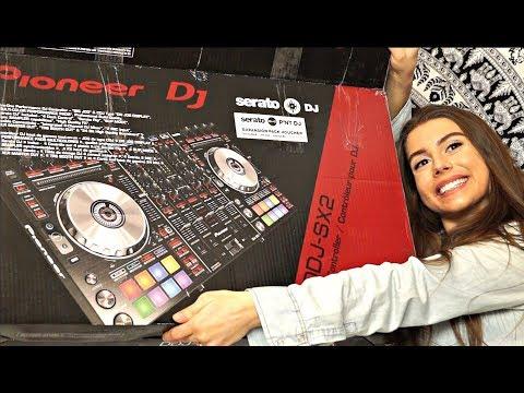 Pioneer DDJ-SX2 Serato Controller Unboxing!!!!!