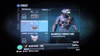 Halo: REACH Recon Helmet & Armor Codes