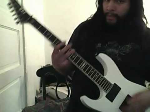 RANDALL CENTURY 200 TEST (bit of my thrash song w/ drums)