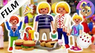 Film Playmobil en français   1 an dans la villa de luxe Playmobil - Fête avec la famille Brie