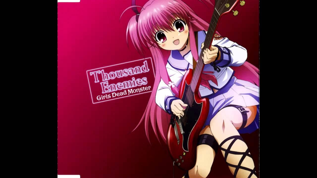 girls-dead-monster-rain-song-kanade-tachibana