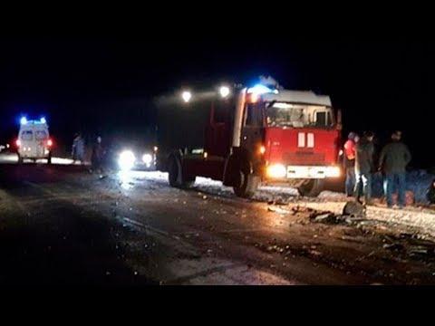 Подробности смертельной аварии в Оренбургской области. Пострадали жители Таджикистана и Узбекистана