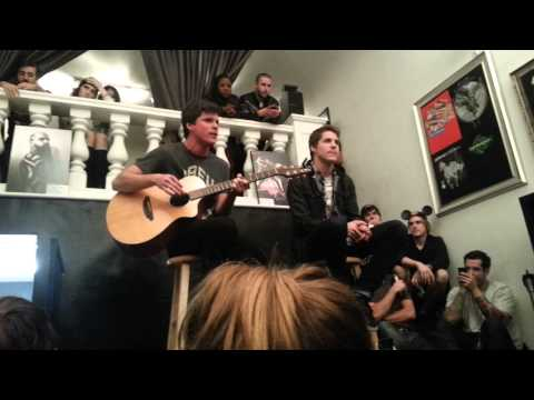 Our Last Night Acoustic Set @ Soundcheck Hollywood