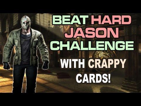 Jason Voorhees HARD BOSS. CRAZY BATTLE!!! (Mortal Kombat X Mobile)