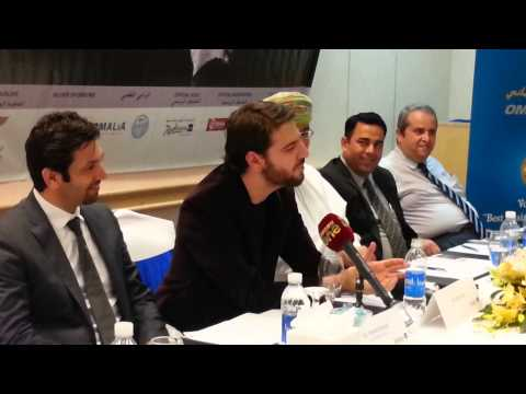 Sami Yusuf sings for the Oman media