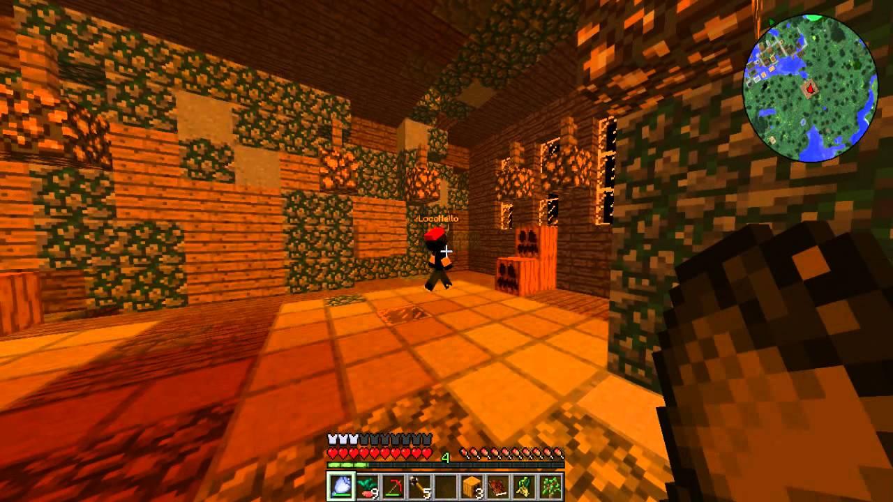 BLOOD MOON   minecraft com mods 1.7.10   Drops #1 - YouTube