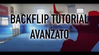 backflip tutorial italiano how to do a backflip