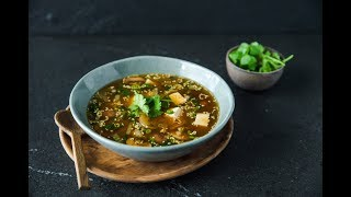 Tofu & Vegetable Soup
