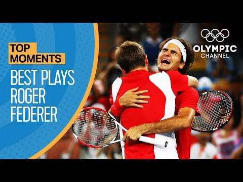 Roger Federer's best points at the Olympic Games | Top Moments