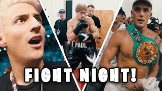 JAKE & LOGAN PAUL UNSEEN BACKSTAGE FIGHT FOOTAGE! Truth about DRAW!