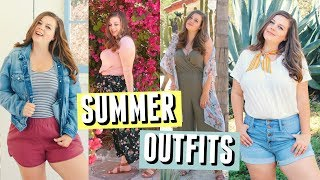 Summer Lookbook 2018! My Favorite Summer Outfits || Sierra Schultzzie
