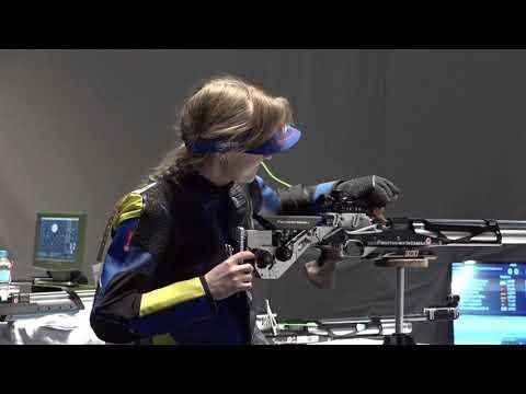Iryna Shchetnik | World Record | World Shooting Para Sport European Champs | Belgrade 2018