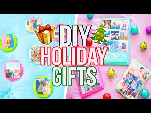 DIY HOLIDAY GIFTS!! Cheap & Easy!