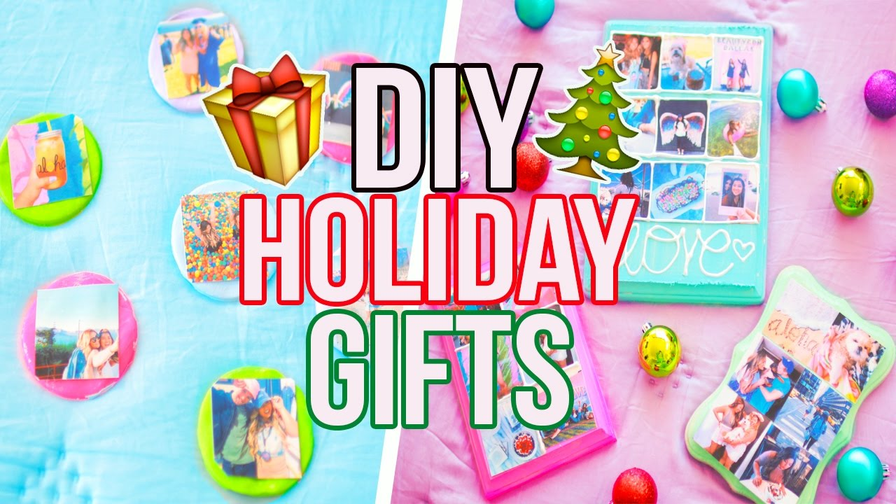 Diy Holiday Gifts Cheap Easy Youtube