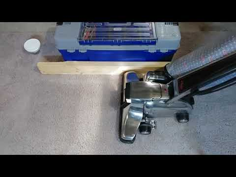 Carpet Edge Cleaning Using A Kirby Heritage II Legend