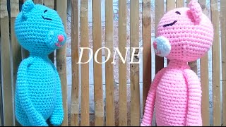 [How to make] Crochet amineko part 7 - Done