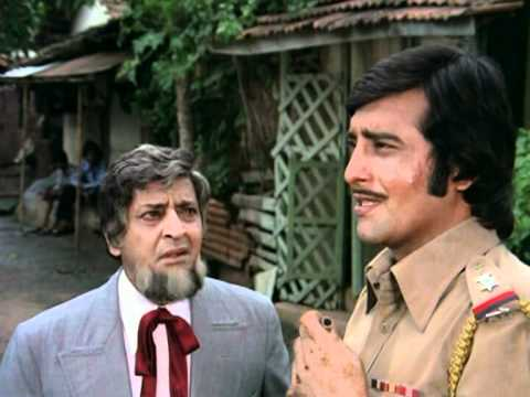Amar Akbar Anthony - Drama Scene - Vinod Khanna - Pran - Kishenlal Finds His Lost Son Amar