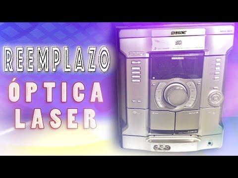 Cambio optica laser  Lector CD