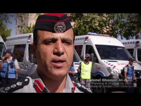 "SECO ""Ambulances Services for Jordan Civil Defense"" 2017"