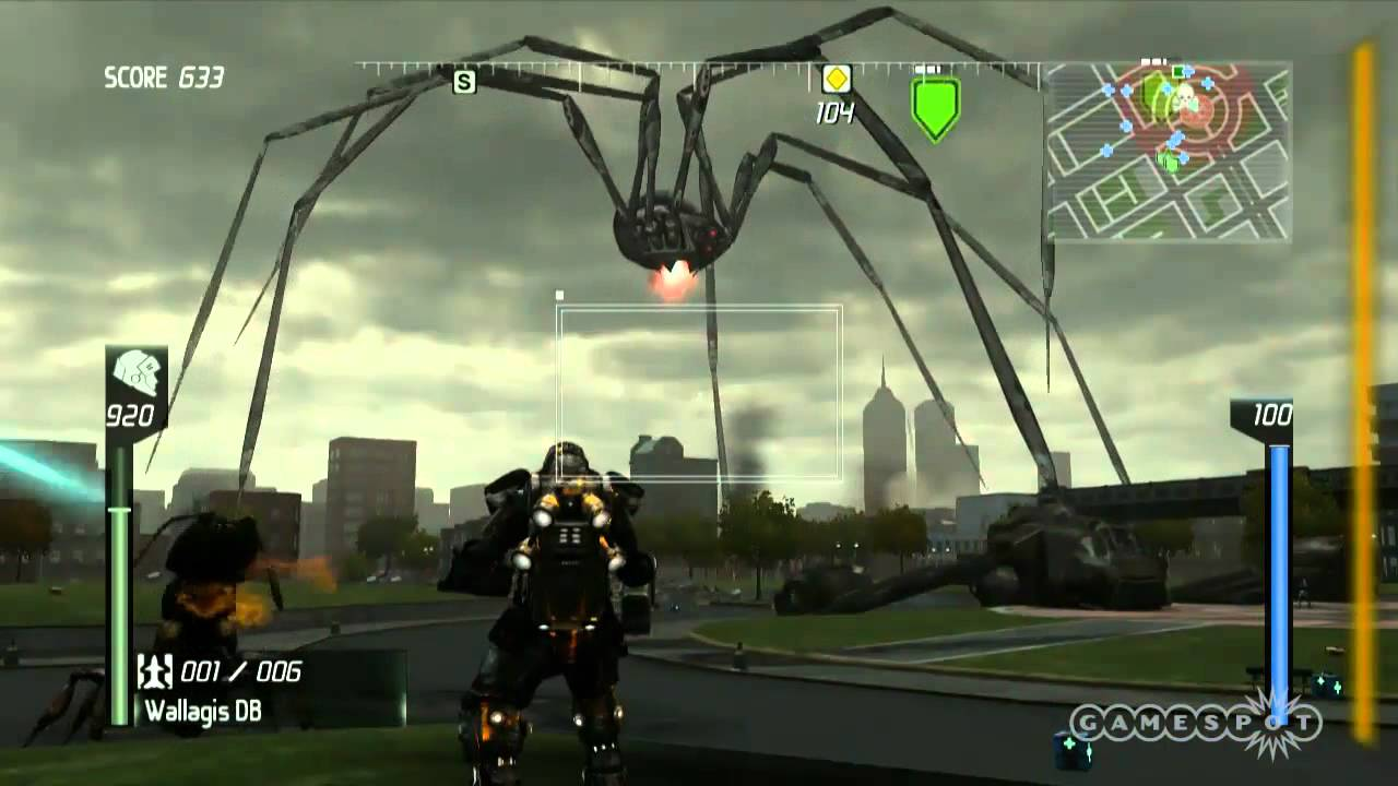 Earth Defense Force Insect Armageddon Floor Demo E3 2011