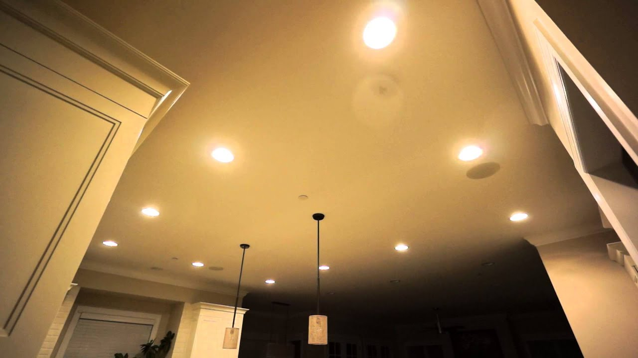 Demonstration of amazon echo controlling 21 ge link br30 ceiling demonstration of amazon echo controlling 21 ge link br30 ceiling lights youtube aloadofball Images