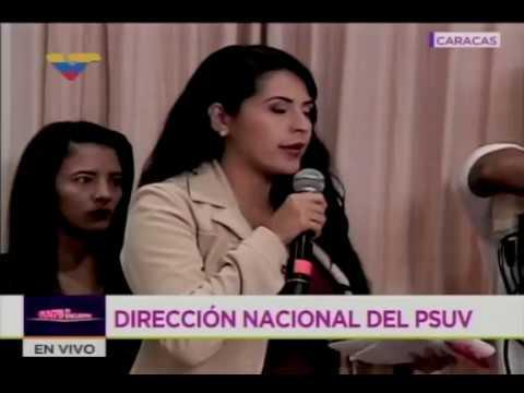 Rueda de prensa del PSUV con Diosdado Cabello, 16 octubre 2017