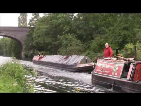 Narrow Boat Trust Summer coal run 2015 - Grand Union Canal