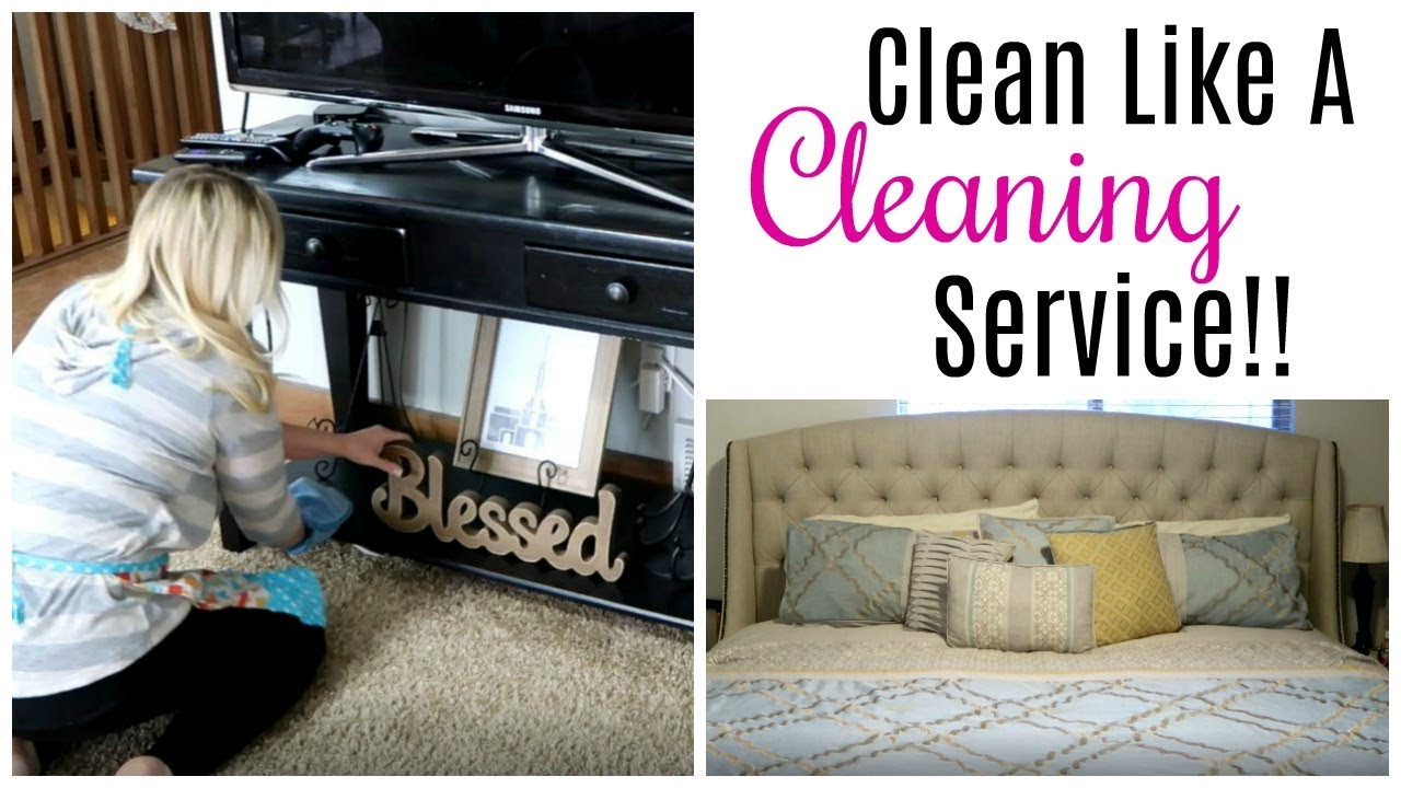 How To Clean Like A Cleaning Service | Company Is Coming!!!!