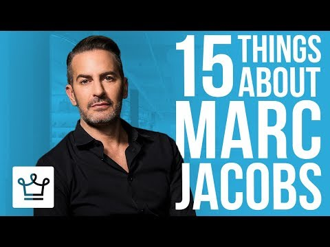 15 Things You Didn't Know About Marc Jacobs