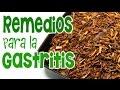 Remedios caseros para los síntomas de gastritis: cura natural para la acidez estomacal