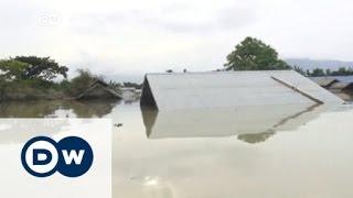 الفيضانات تغرق ميانمار | الأخبار