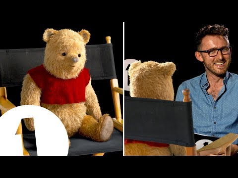 CUTE ALERT: Winnie the Pooh interview! Guess his favourite Disney movie...