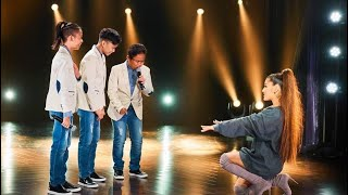 """Ariana Grande and TNT Boys Duet """"And I Am Telling You"""""""