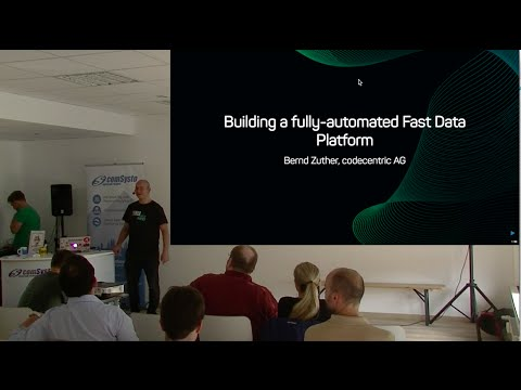 Building a fully automated Fast Data Platform - Meetup Talk by Bernd Zuther