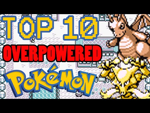 Top 10 Overpowered Kanto Pokemon of Generation 1