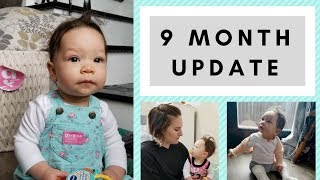 9 MONTH OLD BABY UPDATE | baby