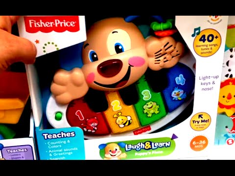 FISHER PRICE LAUGH and Learn Baby GRAND PIANO Musical ...