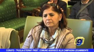 CORATO | Puglia Eternit Free, il Comune aderisce alla campagna di Legambiente
