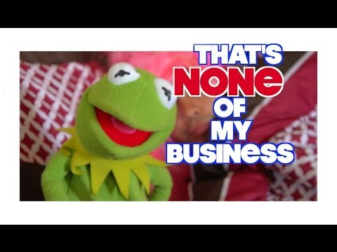 Kermit The Frog - That's None Of My Business (IN REAL LIFE)